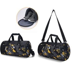 Image 5 - Sports Gym Bag Fitness For Women Men Bags Yoga Nylon Travel Training Ultralight Duffle Shoes Small Sac De Sport 2019 Tas XA6WA