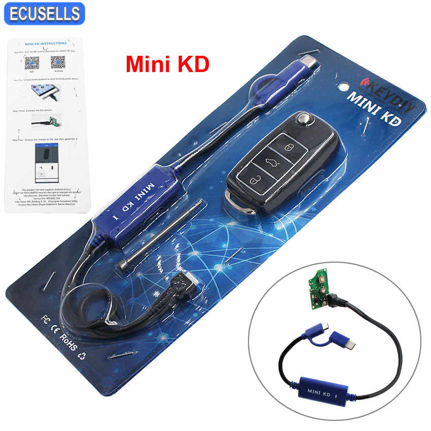 Mini KD Remote Key Generator Support Android Make More Than 1000 Auto  Remotes Similar Function with KD900 Tool