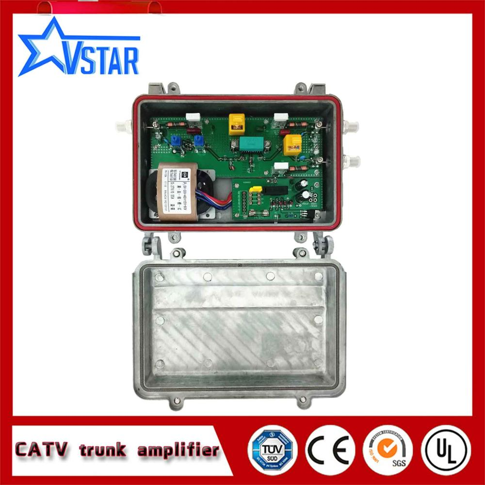 Outdoor Catv Trunk Amplifier With High Gain