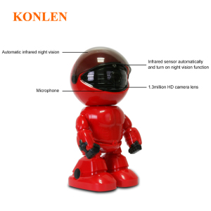 Image 4 - KONLEN Home Security Robot IP WIFI Camera HD 1080P 960P 2MP CCTV Baby Monitor Wireless CMOS YOOSEE IR Cut Audio Night Vision