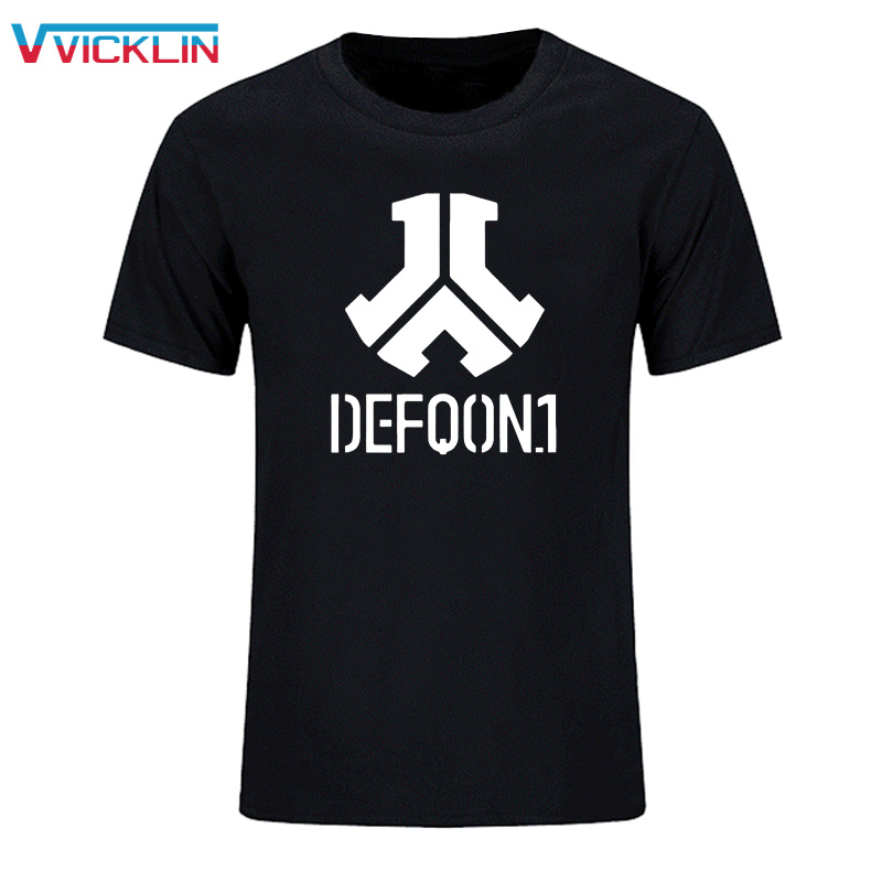 Defqon 1 Pure Cotton Designer T-shirt Personnalisé T-shirts Hip Hop Mens À Manches Courtes T-shirts Mode Casual T-shirt XS-XXL