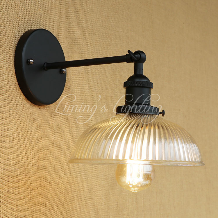 Loft Style Edison Wall Sconce Iron Glass Vintage Wall Light Fixtures Antique Industrial Wall Lamp Home Lighting Lamparas antique loft style vintage wall light fixtures industrial wind edison wall sconce for bedside wall lamp home lighting lamparas