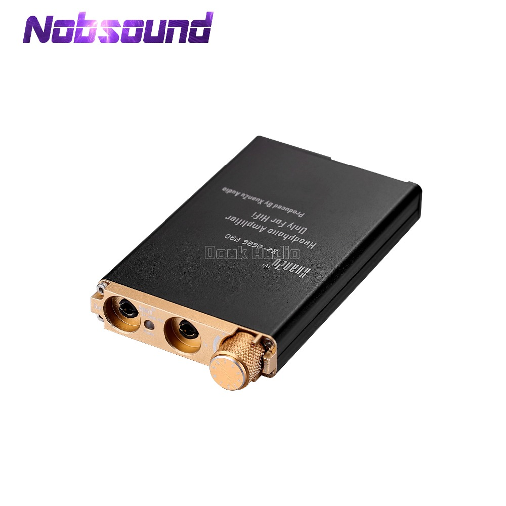все цены на Nobsound Hi-end HiFi Amplifier Mini Compact Portable Stereo Headphone Amp For Phone Audio Player