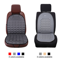 Dewtreetali Car Seat Cover Universal Front Car Seat Protector Winter Cushion Pad Black Gray Car Styling