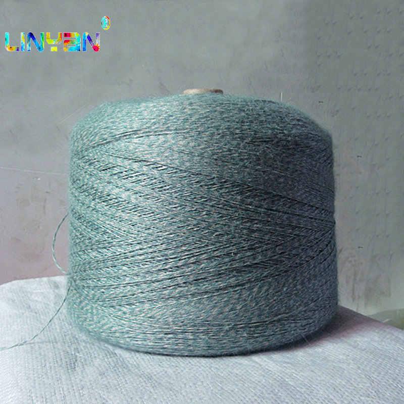 1 pieza * 250g hilo para tejer hilo de algodón de lino hilo de ganchillo para tejer hilo tejido a mano hilo para kniteting t50