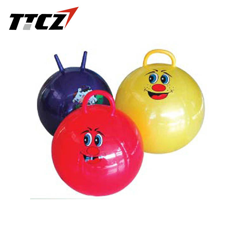 Hop Ball Bouncing Toy 55cm Gym Ball With Handle Cavel Children Play Toy Yoga Ball Yoga Ball Gym Ballball With Handle Aliexpress
