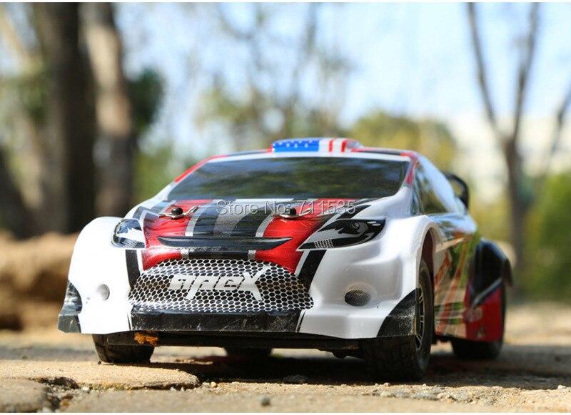 ต้นฉบับ Wltoys A949 RC รถ 1:18 1/18 Scale 2.4Gh 4CH RTR 4WD Rally 50 กม./ชม. เด็ก RC Dirt Bike ของเล่น-ใน รถ RC จาก ของเล่นและงานอดิเรก บน   1