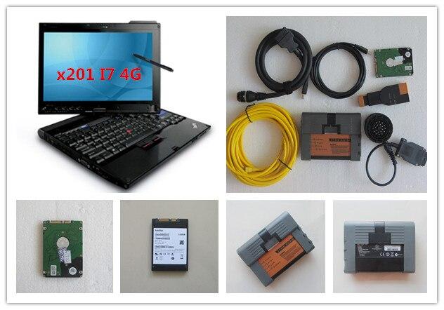 d9aa079d4 Para bmw icom a2 ista hdd 500 gb mais novo software expert mode com laptop  x201t i7 4g conjunto completo de diagnóstico ferramenta de programação para  bmw