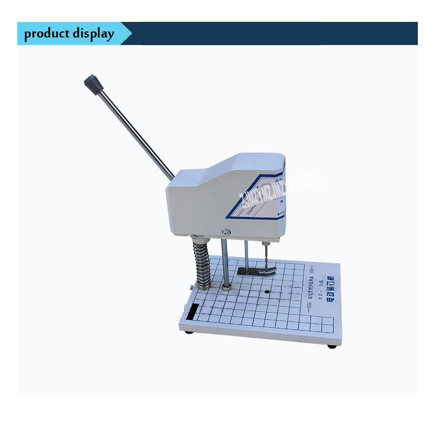Electric bookbinding machine,financial credentials, document,archives binding machine