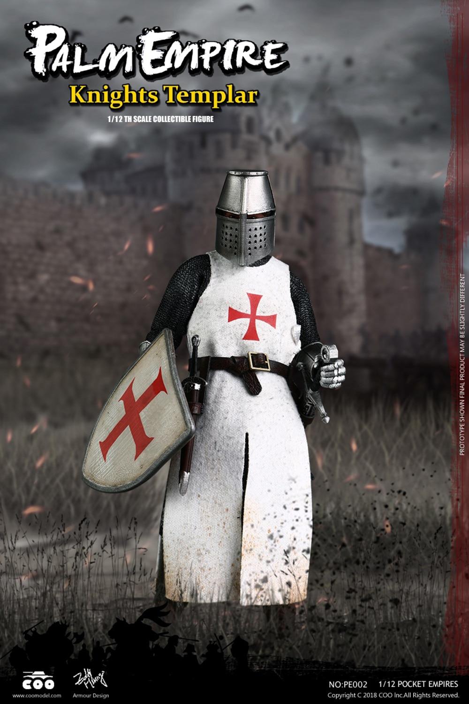 US $72 67 8% OFF|Ancient knight figure Collection 1/12 POCKET EMPIRES  HOSPITALLER KNIGHT/TEMPLAR KNIGHT/ TEUTONIC KNIGHT Full Set Action Figure  -in