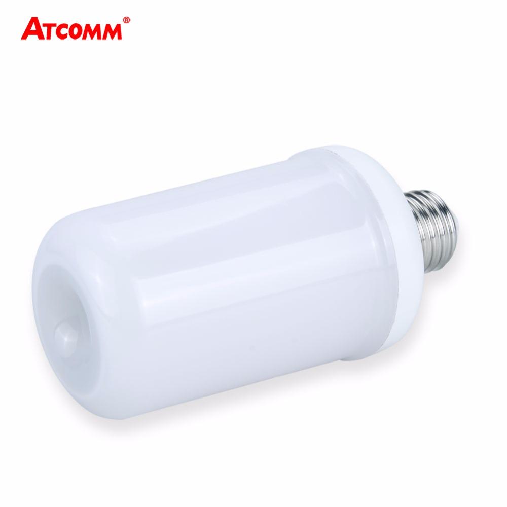 Ampulle GEFHRT E27 Flammeneffekt Lampe 85 265 V 2 Modi Dynamische Feuer Led