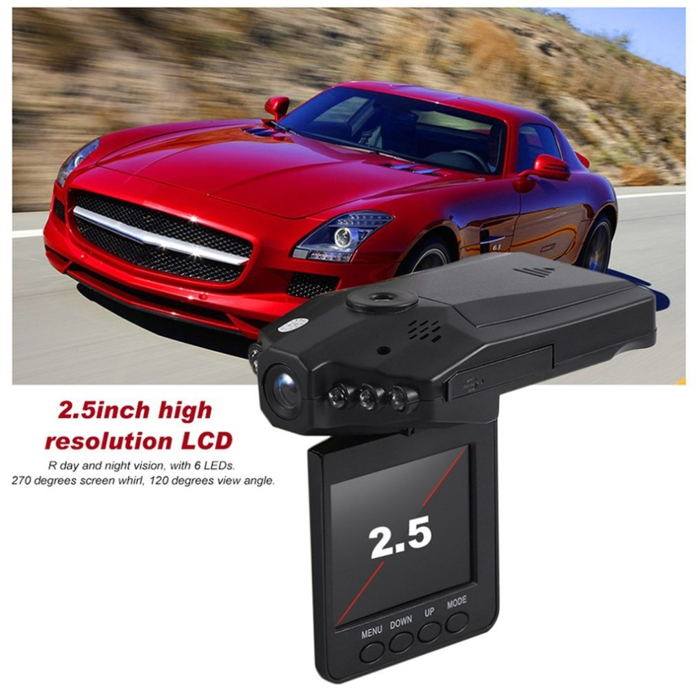 Universal 2.5 Inch Full HD 1080P Car DVR Vehicle Camera Video Recorder Dash Cam Infra-Red Night VisionUniversal 2.5 Inch Full HD 1080P Car DVR Vehicle Camera Video Recorder Dash Cam Infra-Red Night Vision