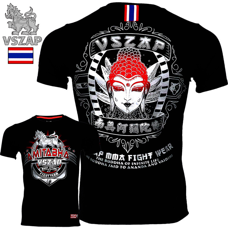 VSZAP Thailand MuayThai T Shirts GarudaMMA Boxing Sports Fighting Fitness Elasticity Tights Trousers Sweatshirts Boxing Clothing