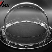 JMX 5,6 дюймовый акриловый внутренний/Открытый CCTV Замена(Panasonic Тип) прозрачный корпус для купольной камеры безопасности купольная камера крышка