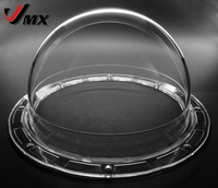 5 6 INCH Acrylic Indoor Outdoor Panasonic Type Dome Camera Housing Cover Vandal Transparent Dome Security