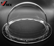 JMX 5.6 INCH Acrylic Indoor / Outdoor CCTV Replacement (Panasonic type) Clear Camera Dome Housing Security Dome Camera Cover