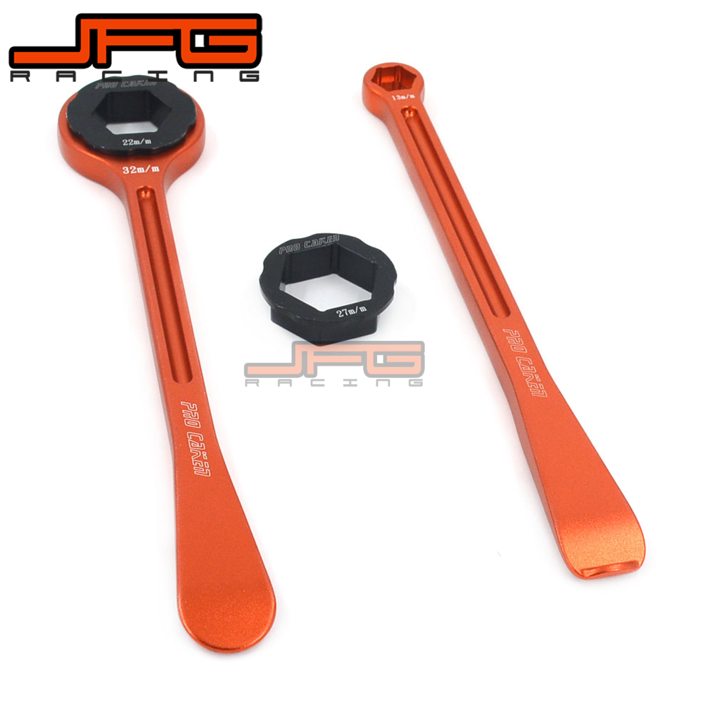 Motorcycle Tyre Iron Set Changing Tool Kit Raceline Levers Hex Wrench Spanner Head 10MM 13MM 22MM 27MM 32MM For European Bike 30mm installation size plastic demounting head with metal flange tyre changer accessory tyre changer tool head