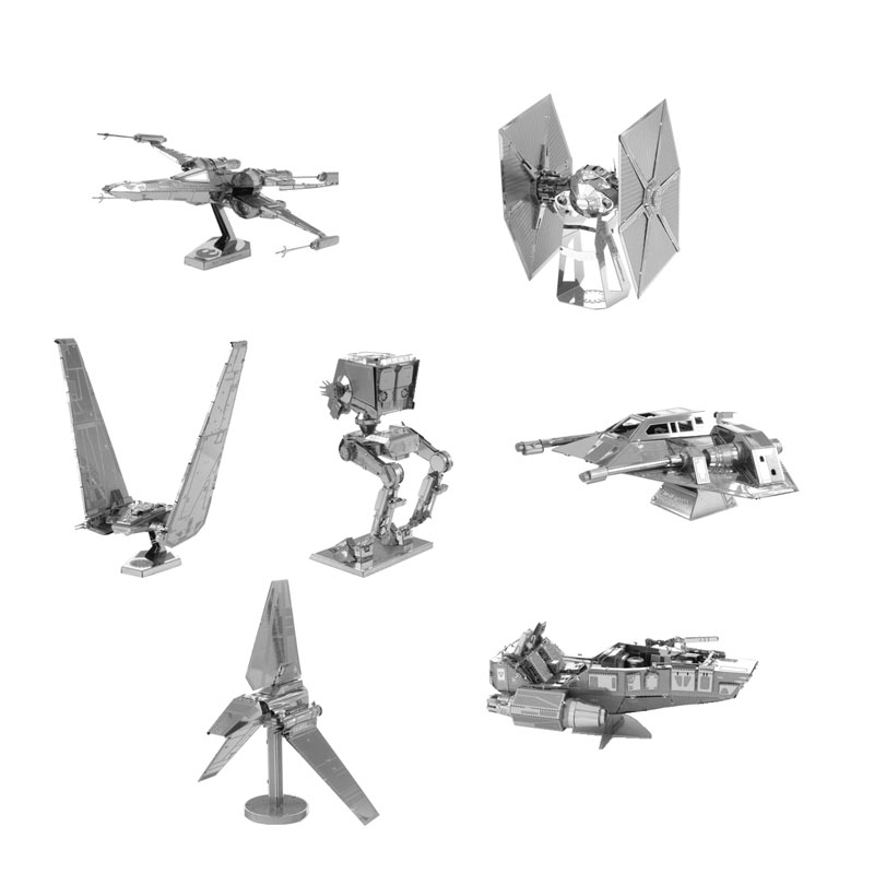 3D Jigsaw Puzzles for Kids Star Wars 3D Nano Metal DIY scales