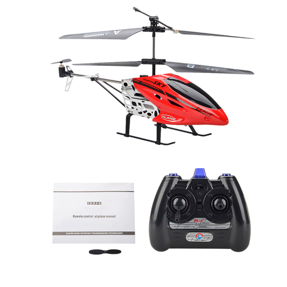 flytec ty911t 3 5ch metal remote control mini drone rc helicopter with gyroscope avion for kids children toys gifts in rc helicopters from toys hobbies on