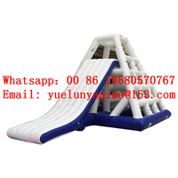 (China Guangzhou) inflatable slides,Castle slides Inflatable water slide Water inflatable pyramid climbing BYS 15