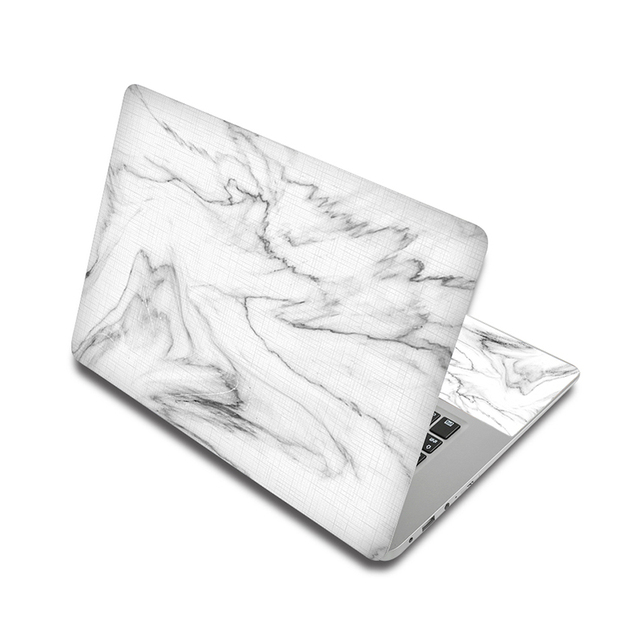 White Marble Laptop Skin Sticker For Laptop And Macbook 6