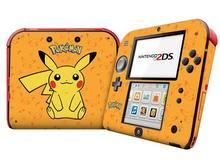 Nueva lindo de dibujos animados de plástico Pokemon Charter protección Case cubierta de pegatinas Nintendo 2DS Game Boy consola con nueva paquete de la piel