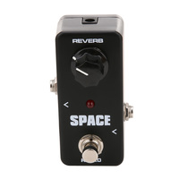 Guitar Parts FRB2 Mini Space Reverb Pedal Portable Guitar Effect Pedal External AC Adapter Delivering