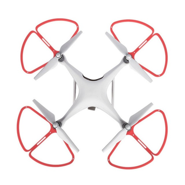 4pcs Drone Propeller Guard Blade Protective Bumper Ring For DJI Phantom 4 Quick-release Anti-Collision