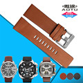 AOTU Vintage Calf Genuine Leather Strap Stainless Steel Pin Buckle for Diesel DZ7257 DZ7345 22/24/26/28/30mm Man Watch Band+Tool