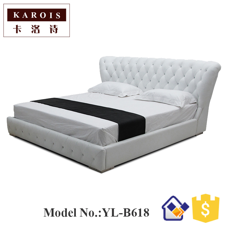 New Type Bed 2017Hot Sale Indoor Chaise Lounge Twin Bed,sommier Lit, Furniture