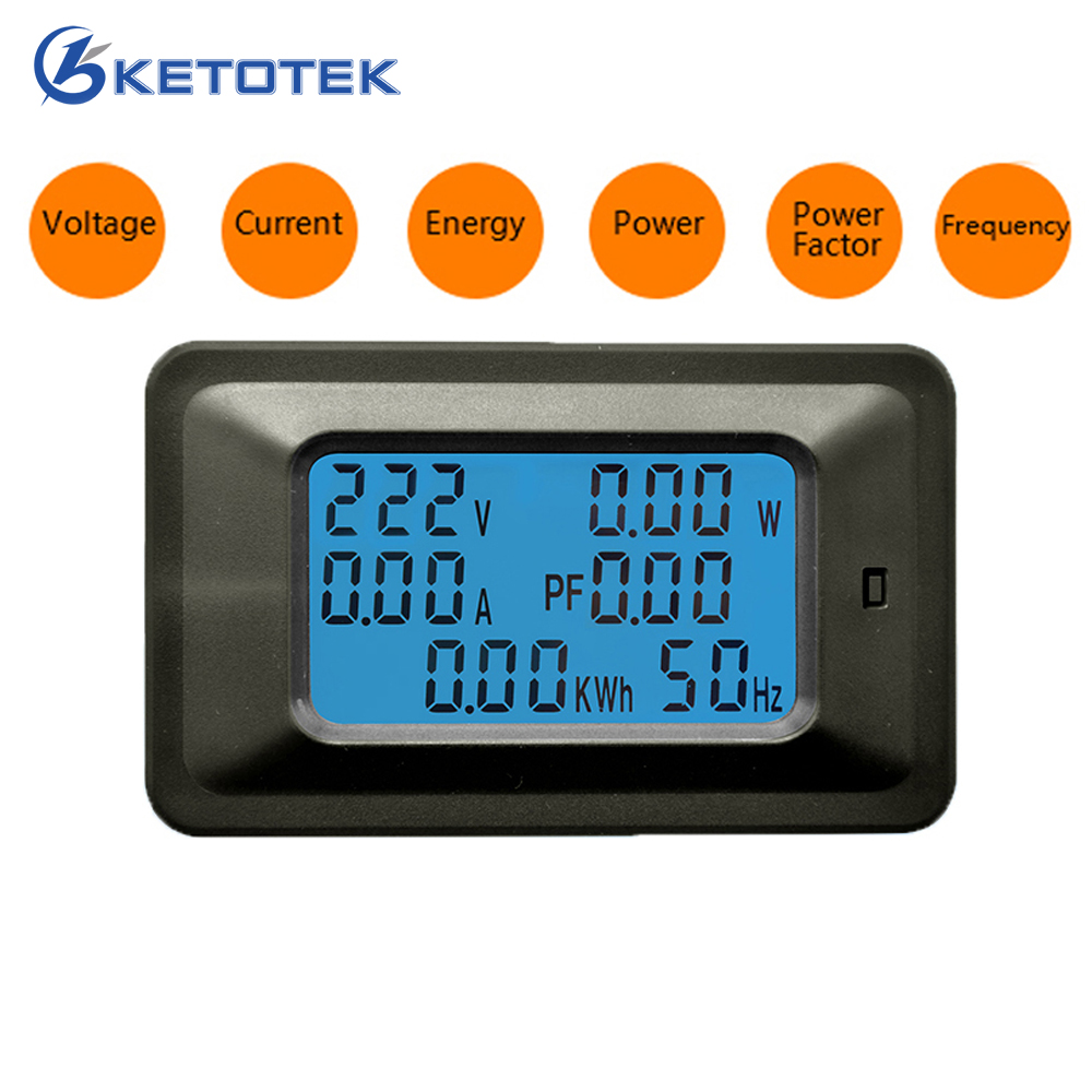AC 85-250 v Digital Voltmeter Amperemeter 20A/100A Strom Spannung Meter Power Energy Power Ampere Volt wattmeter tester detektor