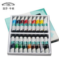 Free shipping Winsor Newton acrylic paint set wall paint pigment textile pigment painted 24 color