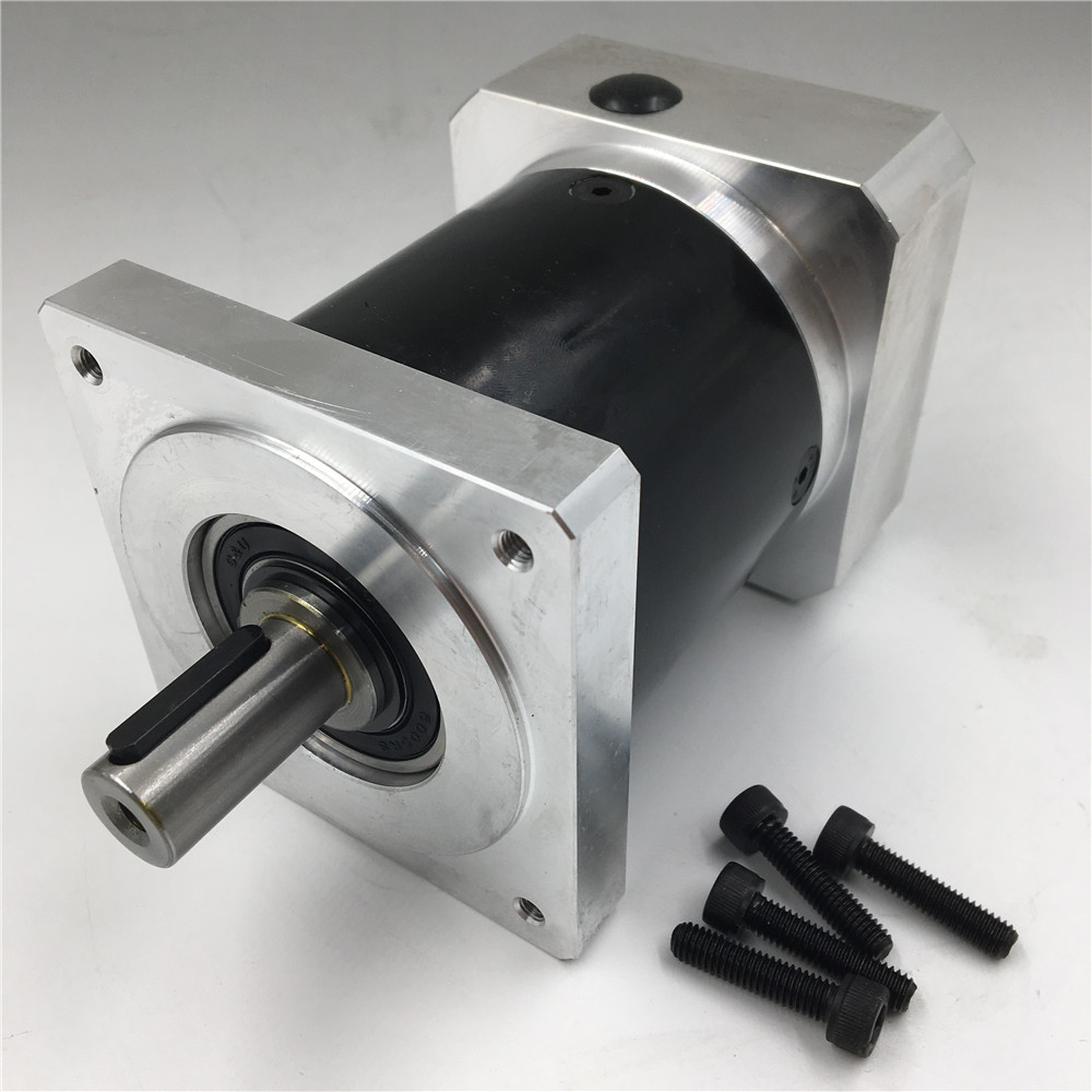 Gear Ratio 20:1 Speed Reducer Nema34 Planetary Gearbox Output Shaft 16mm L134.5mm for CNC Stepper Motor 60w ac reversible motor 5rk60gu cf with gear ratio 90 1 output speed is 15 r m gear head 5rgu 90k