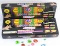 Hot Vender Caixa de Presente Pack 600-pcs Aparecimento Kits Rubber Loom Bandas DIY Pulseira de Presente para As Crianças Frete Grátis