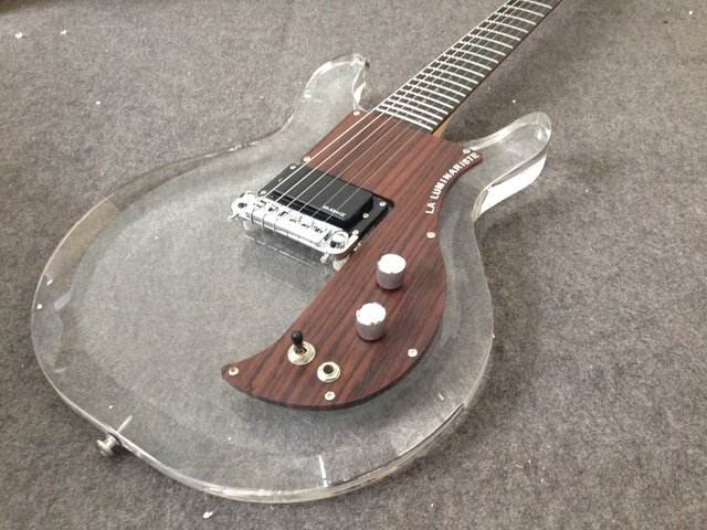 Ampeg Electric Guitar G05 New Style Acrylic Body  Dan Armstrong 3