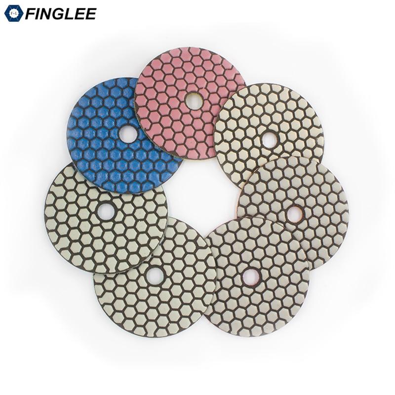 FINGLEE 7ks 4 palce / 100 mm úhlové brusky Diamond flexibilní - Elektrické nářadí - Fotografie 2