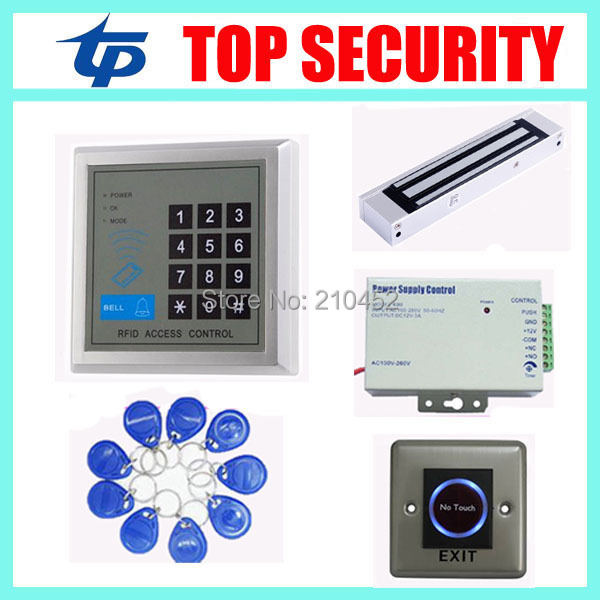 Standalone 125KHZ RFID card smart card access control system 1000 user capacity door access control for apartment, home, office digital electric best rfid hotel electronic door lock for flat apartment
