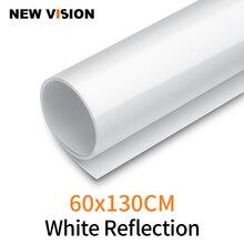 Biały 60X130 cm 24*51 cal fotografia tło papier matowy odbicie pcv winylu bezszwowe tło bez szwu wody odporne na
