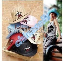 Aspiring 1pcs Child Travel Summer Star Hat Suv Sun Cap West Cowboy Baby Kid Fishing Beach Visor Hat Outdoor Sport Large Brimmed Strawhat