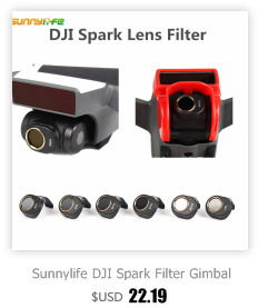 Sunnylife DJI Spark Filter Gimbal Camera Lens Combo Multi-Layer Coating Films DJI Spark filter for ND4 ND8 ND16 ND32 MCUV CPL