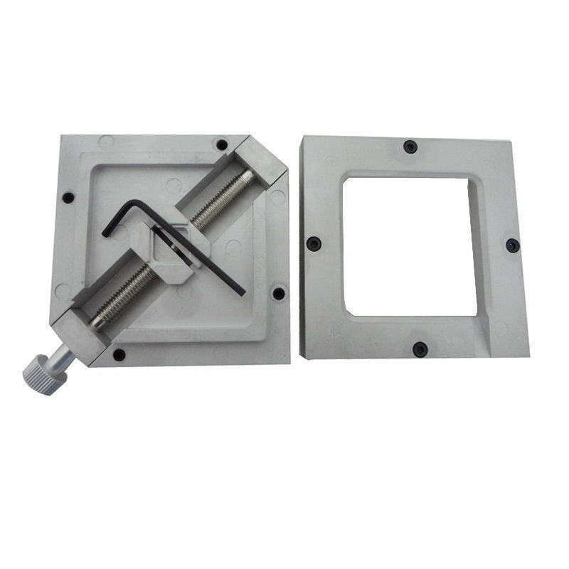 80MM 90MM BGA Reballing jig Stencils Template Holder Foxture Jig For PCB Chip HT-80 HT-90 bga reballing kit bga reball station with handle 90mm x 90mm stencils template holder jig