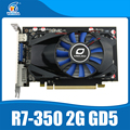 Original desktop placa gráfica ati r7 350 2 gb gddr5 128bit jogo placa de vídeo independente r7-350