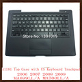 """98% New A1181 Laptop Repair Parts For Apple Macbook Air 13"""" 13.3"""" Black Top Case With US Keyboard Trackpad Touch Pad Replacement"""