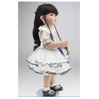Novelty Latest 18 Inch Handmade BJD Doll With Dress Beautiful Princess Doll Toy For Children Christmas