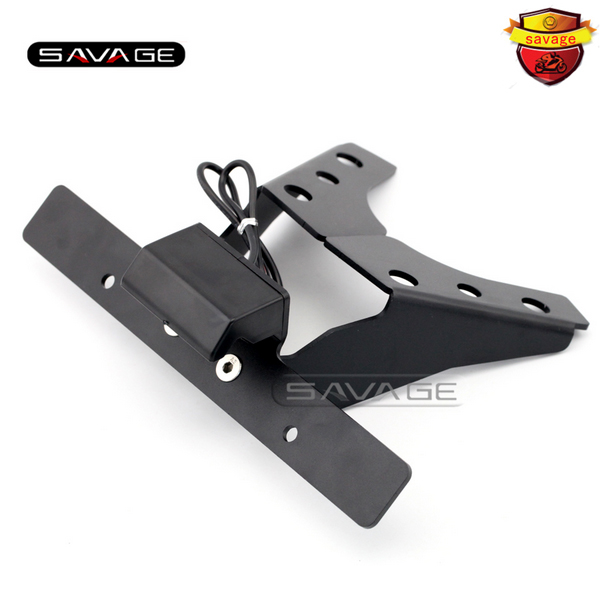 For SUZUKI GSXR 1000 GSXR1000 2009-2015 K9 Motorcycle Tail Tidy Fender Eliminator Registration License Plate Holder LED Light maluokasa motorcycle fender eliminator tail tidy for suzuki hayabusa gsx1300r 2008 2009 motor license plate tail light bracket