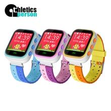 กรีฑาคนa3p 100%ใหม่เด็กgpsติดตามสร้อยข้อมือสมาร์ทsmart watchสำหรับเด็กs mart w atch appสำหรับiphone ios a ndroid