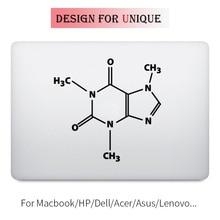 Caffeine Molecular Formula Laptop Decal for font b Apple b font font b Macbook b font