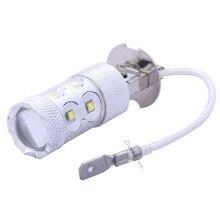 Led H3 50W Fog Light Car High Power Xenon H3 Led Car Light H3 Bulb Lamp Led Bulb 12V Automotive Led Lighting White FREE SHIPPING