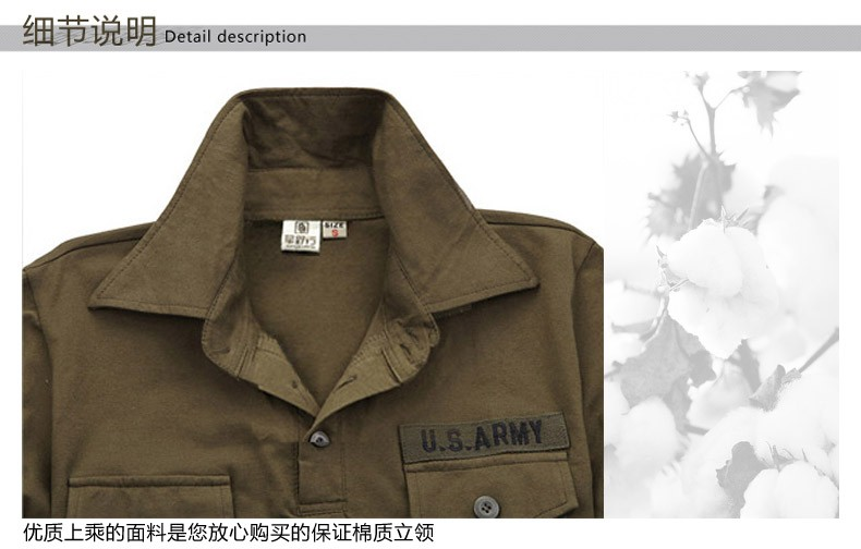 2016 New Style Mens Brand Shirts Army Green Black Short Sleeve Men Outdoor Camp Hiking Cotton Dress Shirts Camisa M-3XL (14)
