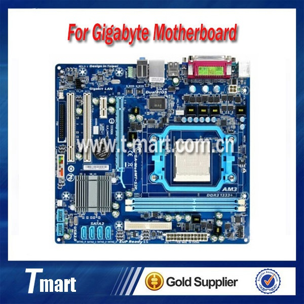 ФОТО 100% working Desktop motherboard for Gigabyte GA-M68MT-S2P System Board fully tested